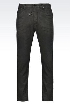 Armani Jeans Men j01 regular fit black wash jeans