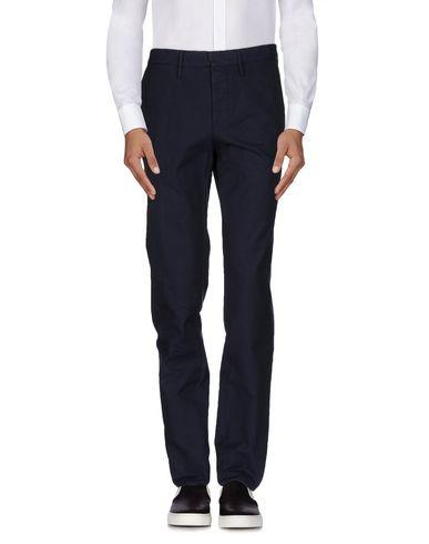 INCOTEX メンズ パンツ ブルー M コットン 100%