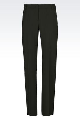 Armani Trousers Women trousers in wool blend