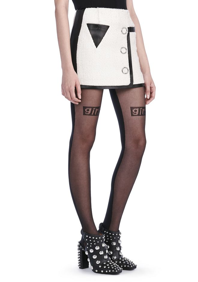 ALEXANDER WANG Skirts Women MINI WRAP SKIRT WITH TRIANGLE POCKET