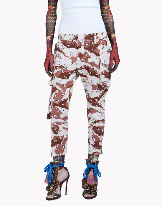 army icon pants pants Woman Dsquared2