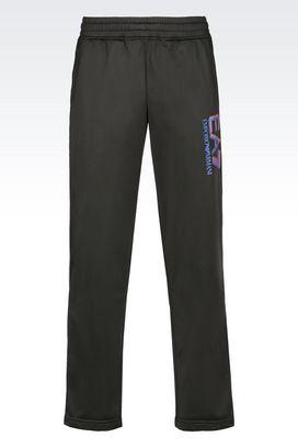 Armani Pants Men visibility line tricot brush trousers