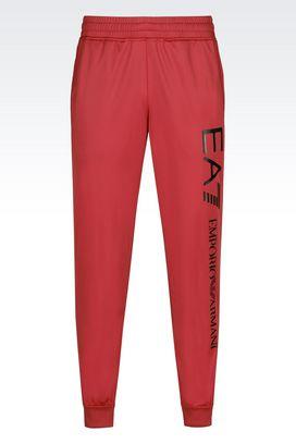 Armani Pants Men tricot brush trousers