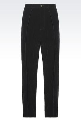 Armani trousers Men satin trousers