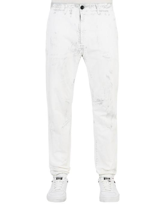 STONE ISLAND Trousers 30831 HAND CORROSION ON RASO