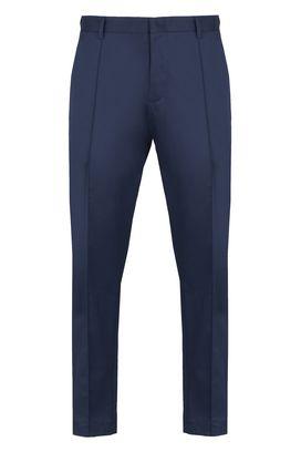 Armani Chino Uomo pantaloni in raso di cotone