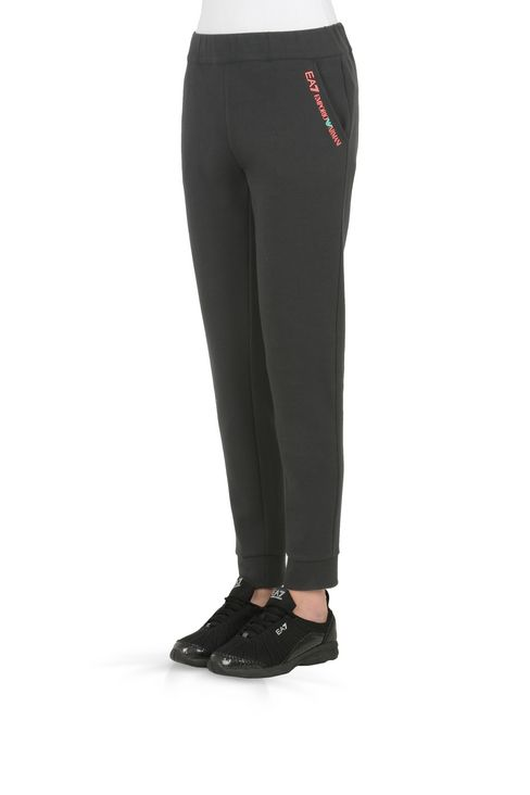 PANTALONI JOGGING IN COTONE : Pants Donna by Armani - 3