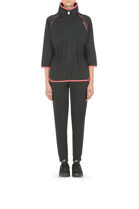 PANTALONI JOGGING IN COTONE : Pants Donna by Armani - 2