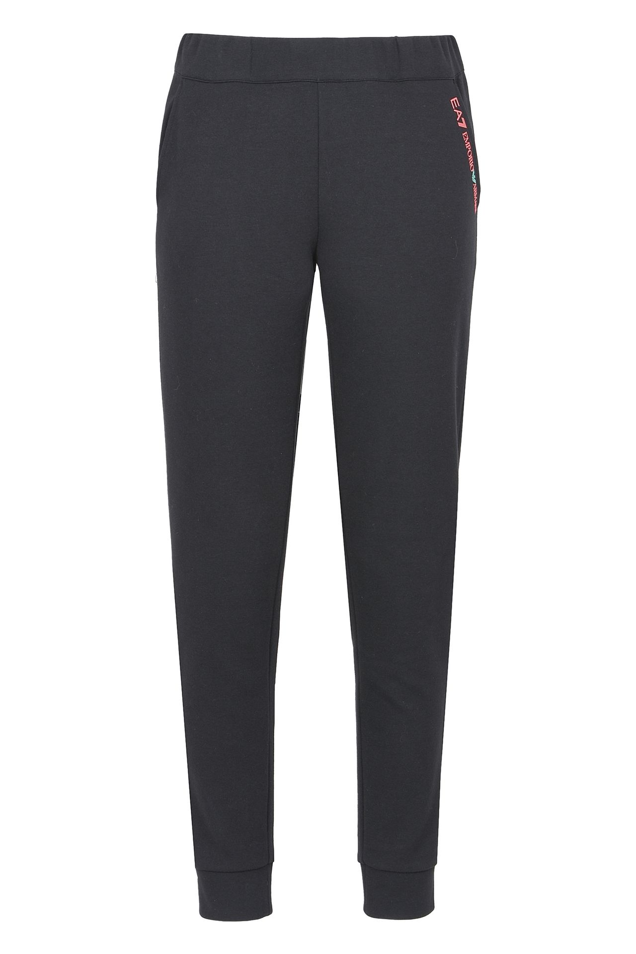 PANTALONI JOGGING IN COTONE : Pants Donna by Armani - 0