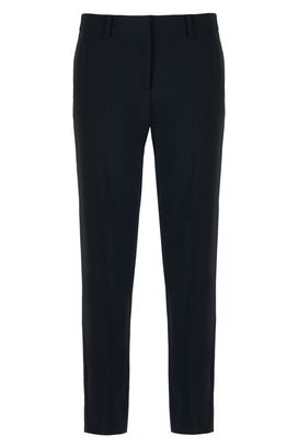 Armani Straight leg pants Women wool crepe chinos