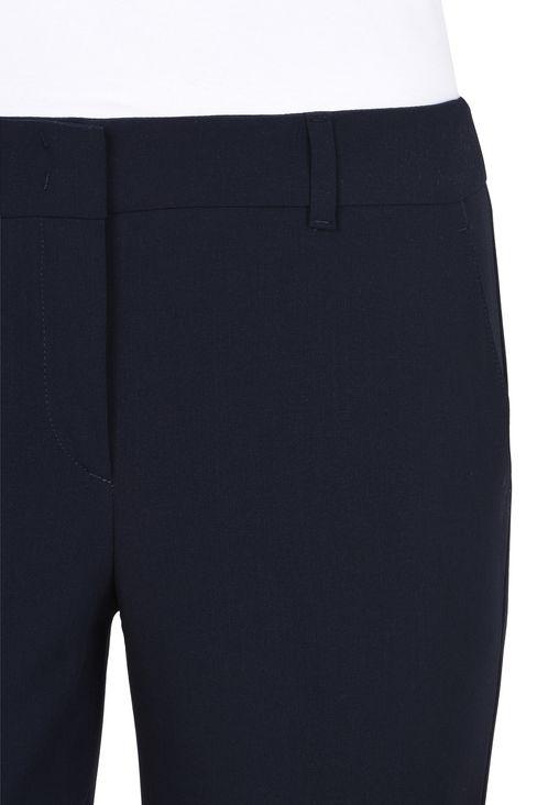 WOOL CREPE CHINOS: Straight leg pants Women by Armani - 5