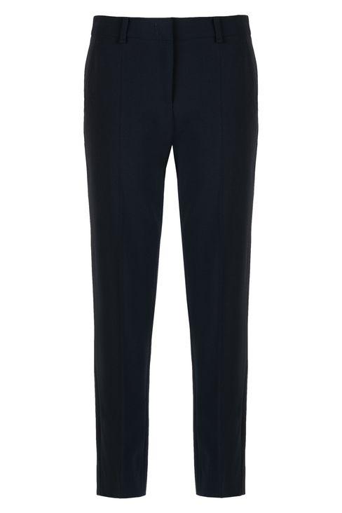 WOOL CREPE CHINOS: Straight leg pants Women by Armani - 1