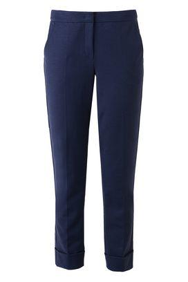 Armani Straight leg pants Women classic cotton trousers