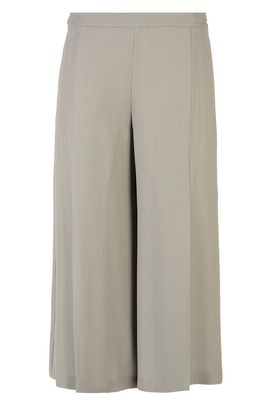 Armani Pantaloni vita alta Donna pantalone cropped in tessuto crêpe