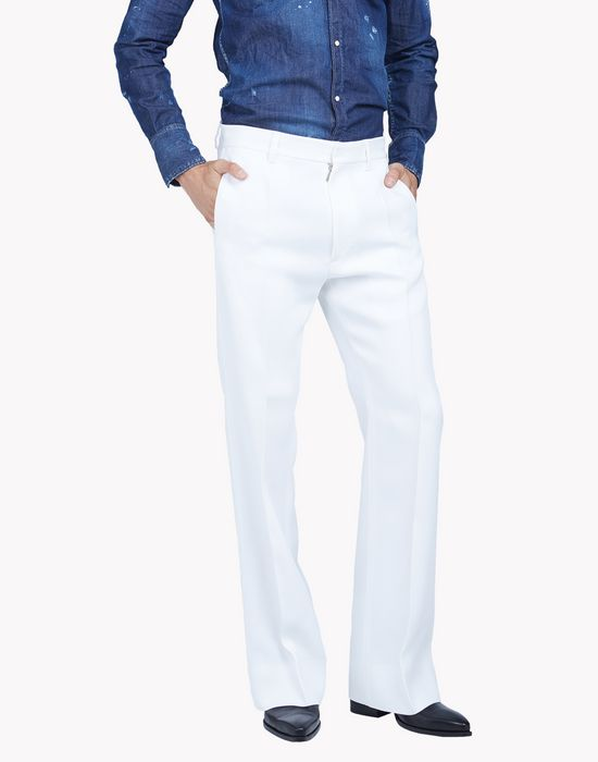 flared evening pants pantalons Homme Dsquared2