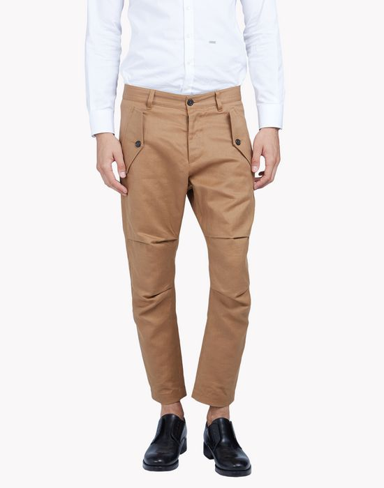 cropped cargo chinos pants Man Dsquared2