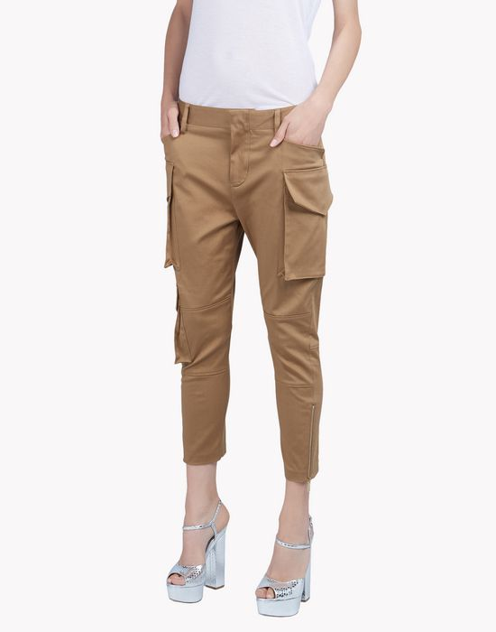 icon cotton pants trousers Woman Dsquared2