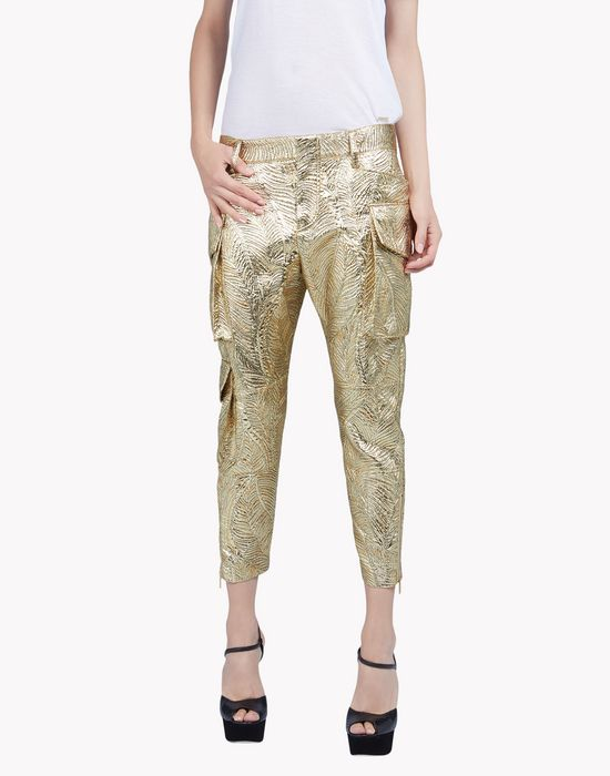 icon lurex pants pantalones Mujer Dsquared2