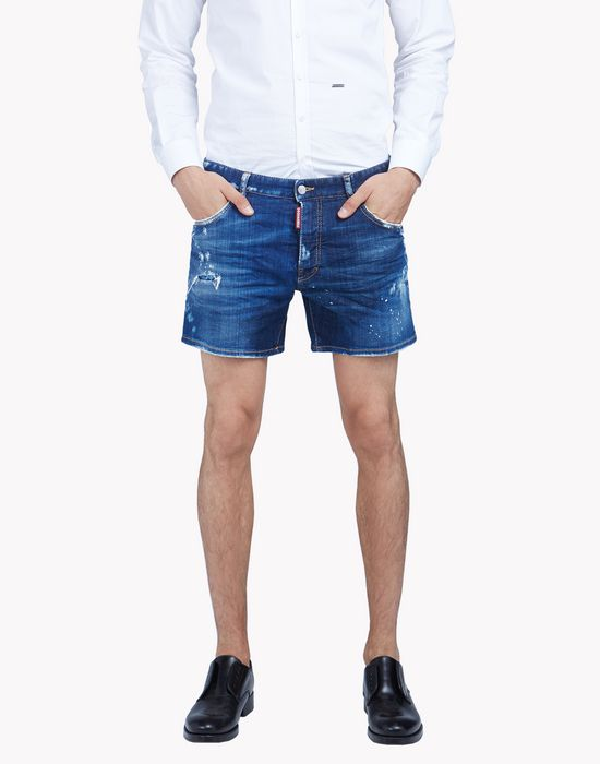 sport packo denim shorts pants Man Dsquared2
