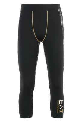 Armani Leggings Uomo pantaloni leggings in tessuto tecnico stretch