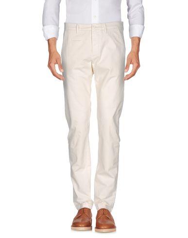 Повседневные брюки UNIFORM. Цвет: слоновая кость