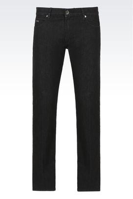 Armani Pantaloni jeans Uomo jeans regular fit in cotone stretch