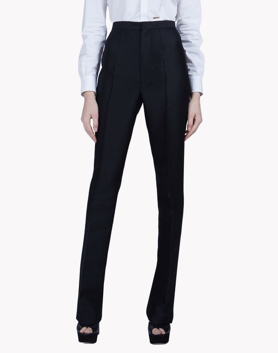 wool silk sabrina pants pantaloni Donna Dsquared2