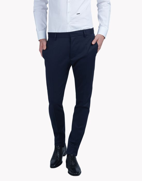 slim-fit wool pants pantaloni Uomo Dsquared2