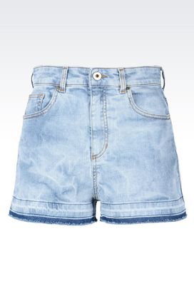 Armani Denim shorts Women denim