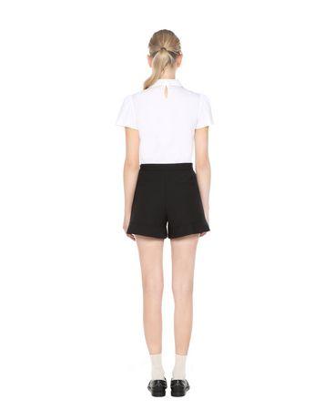 REDValentino MR3RF0L00VM 0NO Shorts Woman r