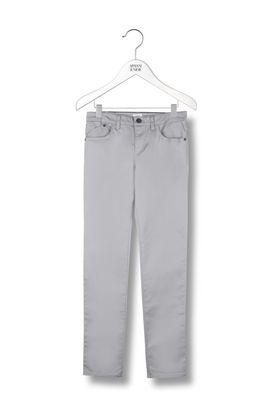 Armani Pants Men solid colour 5 pocket cotton gabardine trousers