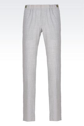 Armani Pants Men casual wool pants