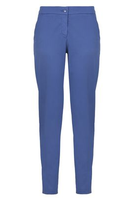 Armani Straight leg pants Women solid colour chinos