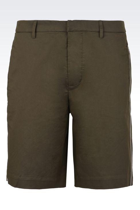 Trousers: Bermuda shorts Men by Armani - 1