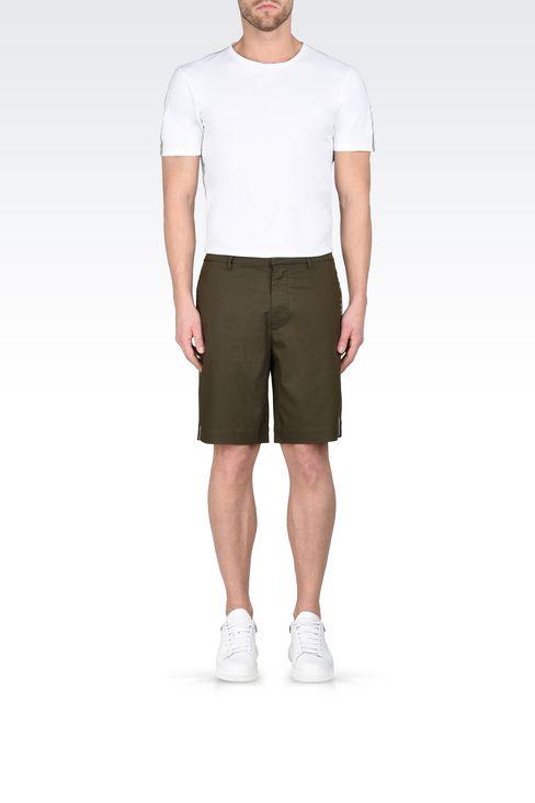Trousers: Bermuda shorts Men by Armani - 2