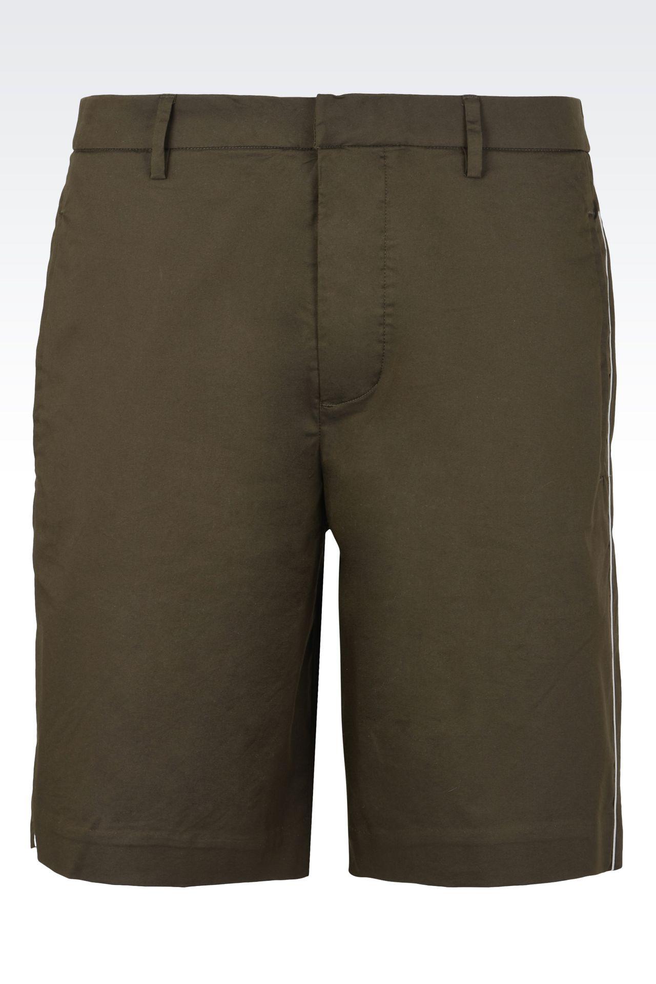Trousers: Bermuda shorts Men by Armani - 0
