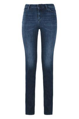 Armani 5 tasche Donna j85 jeans straight fit 5 tasche