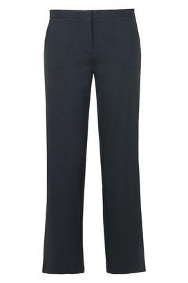Armani Pantaloni palazzo Donna pantaloni interlock stretch