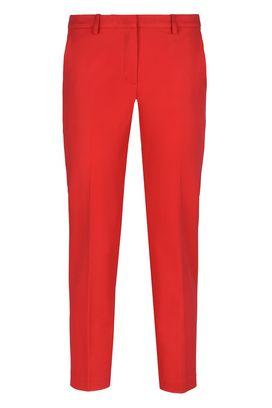 Armani Pantaloni classici Donna pantaloni alla caviglia in raso doppio stretch