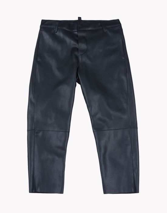leather pants pants Woman Dsquared2