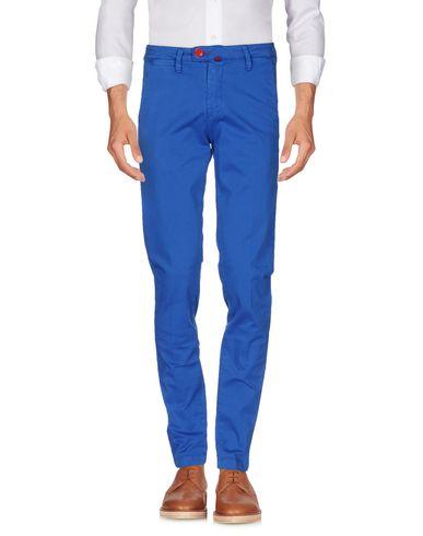 Повседневные брюки BARONIO. Цвет: ярко-синий