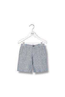 Armani Shorts  Men 4 pocket cotton and linen blend shorts