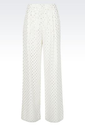 Armani Trousers with tucks Women trousers