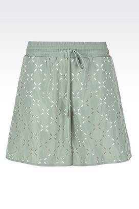 Armani Pants Women mid rise shorts