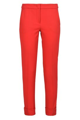 Armani Classic pants Women classic micro check trousers