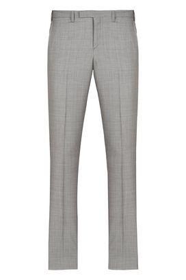 Armani Classic pants Men wool straight leg trousers