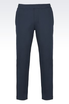 Armani Sport pants Men jersey cotton pants