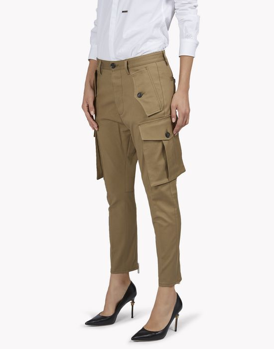 sexy cargo pants  hosen Damen Dsquared2