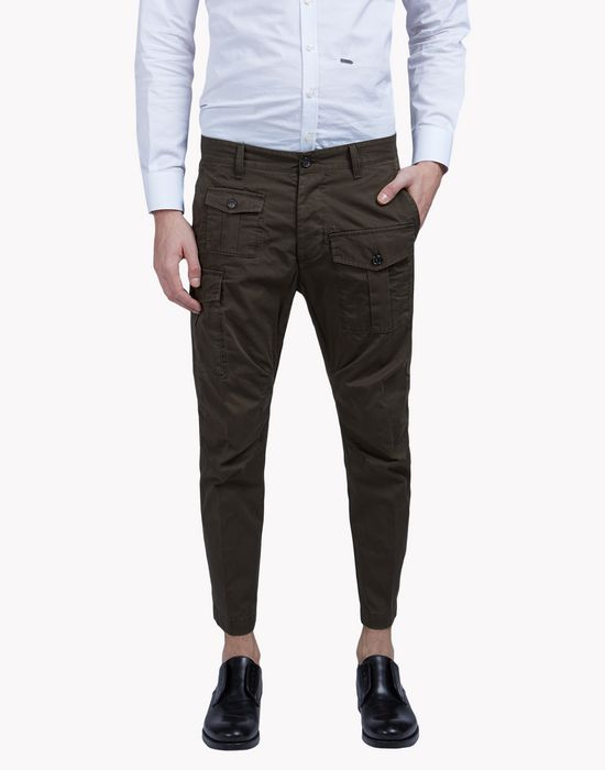 cargo chinos pants Man Dsquared2
