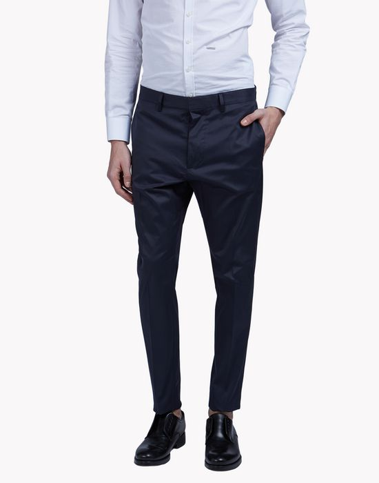 cotton-twill chinos pantaloni Uomo Dsquared2